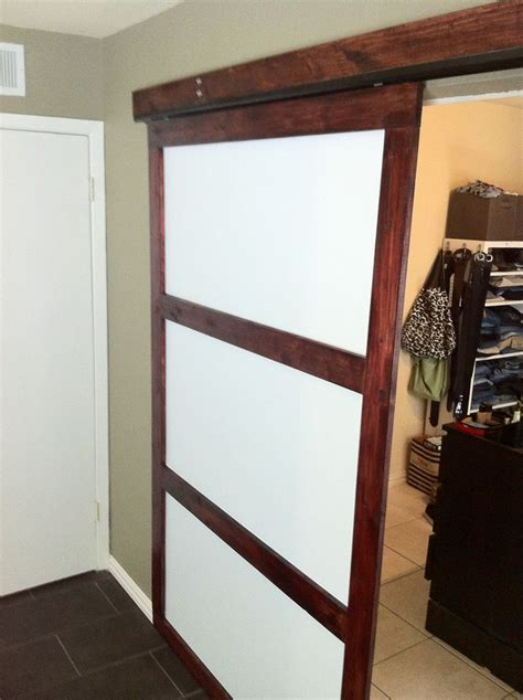 Build Closet Door 17 Best Images About Sliding Closet Doors On Sliding Barn Doors Bypass Barn Door