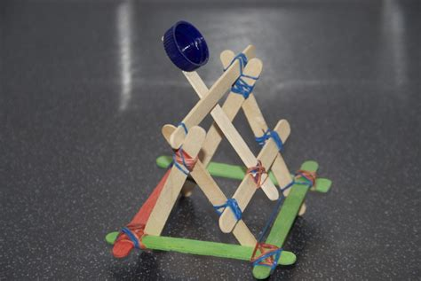 rubber sting projects popsicle stick catapult munchkins and
