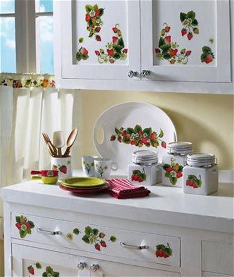strawberry themed kitchen decor tabulous design strawberry kitchen decor