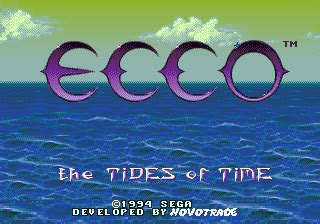 play ecco the tides of time sega genesis online | play