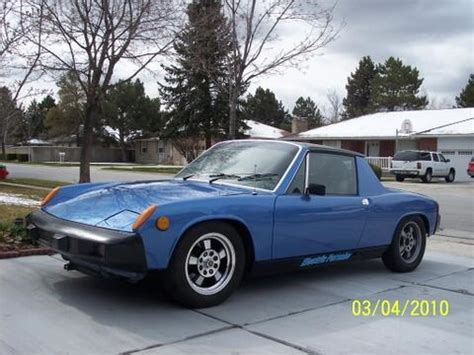 porsche 914 electric electric blue porsche 914