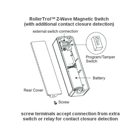 z wave l switch zwave wireless magnetic switch with separate relay contact