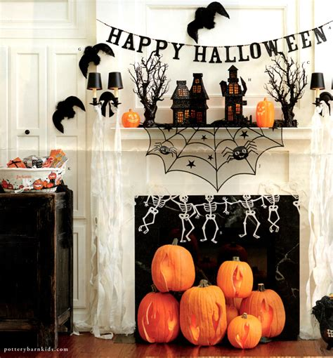 pottery barn inspiration pottery barn inspired flaming pumpkins spookyspaces