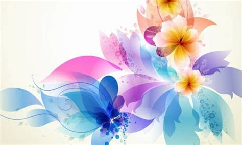 63a Bordir light blue flower vector background creativity and