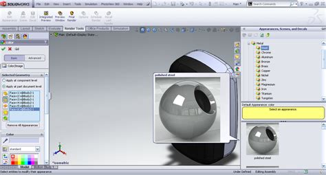 rendering animation with photoview in solidworks grabcad tutorial rendering part models in solidworks grabcad