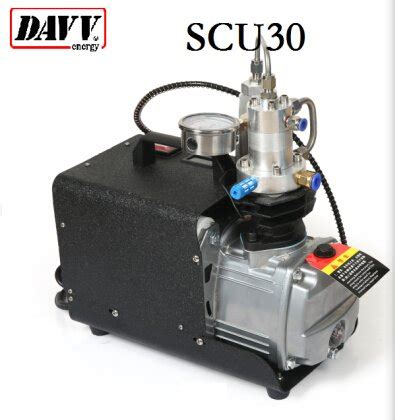 davv scu30 high pressure air compressor for paintball pcp airgun rifle scuba tank filling 110v