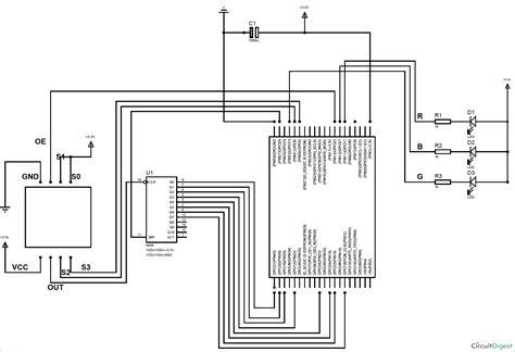 color detector raspberry pi color detector using color sensor tcs3200