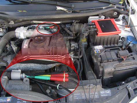 Alarm Motor Type R gecombineerde meting aan een egr klep dc motor en positie sensor