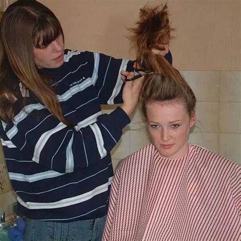 woman forced haircuts 581 best haircut images on pinterest barber long hair