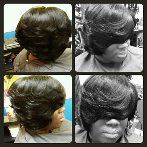 quick weave asymmetrical bob layered asymmetrical quick weave bob styles by cola dope
