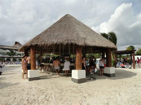 playa del carmen bar with swings swing bar picture of bluebay grand esmeralda playa del