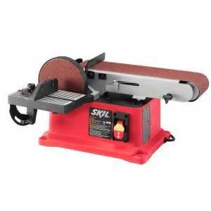 home depot sanders skil 4 4 in x 36 in corded electric belt disc sander