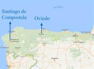 oviedo florida map oviedo and the camino de santiago