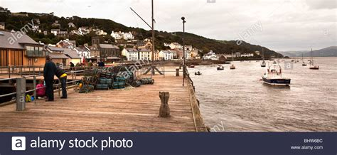 village jetty stock photo image 64063688 pier jetty and sailboats on sea aberdyfi aberdovey