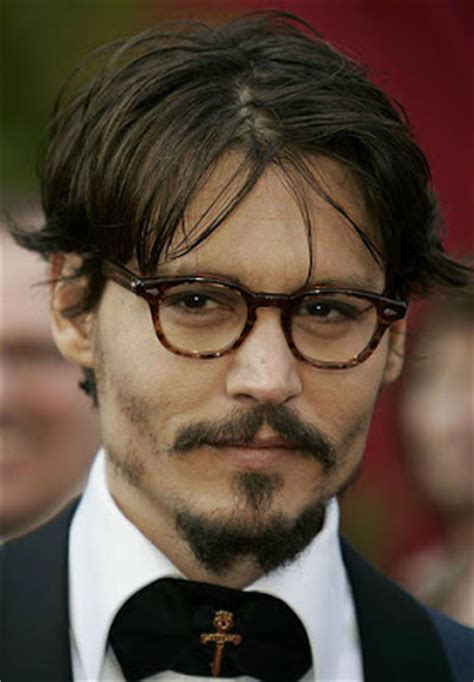 johnny depp layered hairstyles – cool men's hair