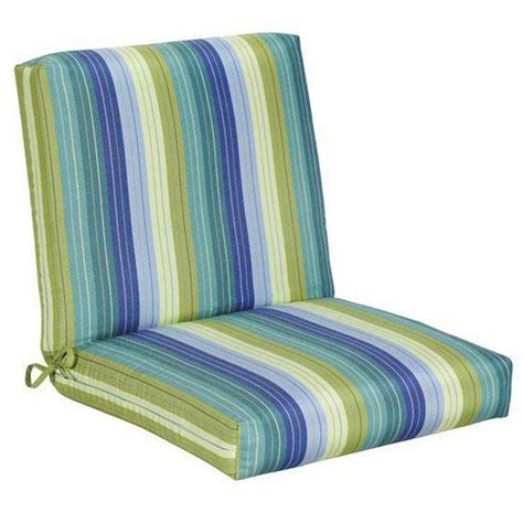Outdoor Patio Chair Cushions Home Decorators Collection Sunbrella Seaside Seville Outdoor Dining Chair Cushion 1573120330