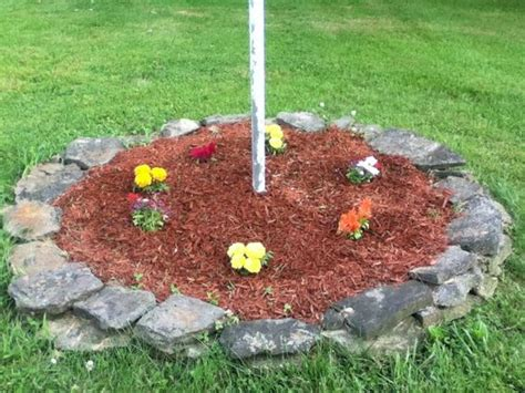 Flagpole Landscaping Ideas Landscaping Bird Boxes And Flag Poles On Pinterest
