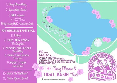 washington dc map tidal basin walking map washington dc printable happy memorial day 2014
