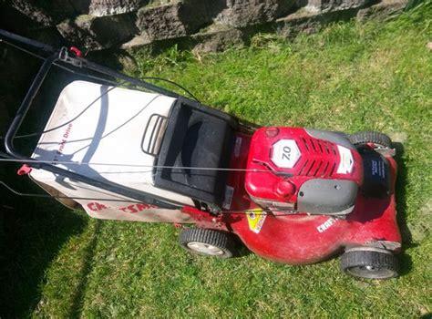 propelled craftsman  hp lawn mower  sale
