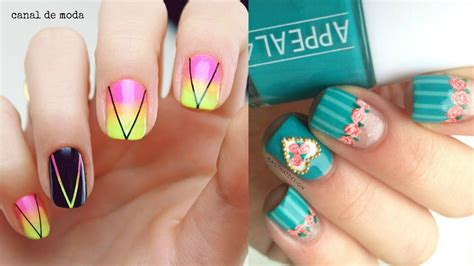 imagenes de uñas decoradas verano u 241 as decoradas 2016 dise 241 os de u 241 as para verano youtube
