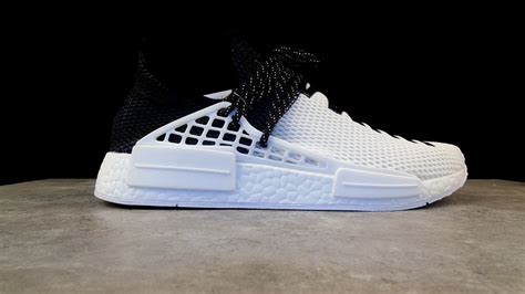 adidas human race black chaussures adidas nmd human race white black bb0621