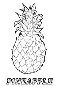 coloring pages have fun coloring this pineapple coloring