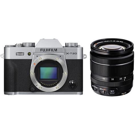 Fuji X T20 18 55mm fujifilm x t20 silver digital xf 18 55mm f 2 8 lens