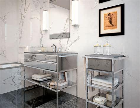 nella vetrina high end italian bathroom vanity gray glass