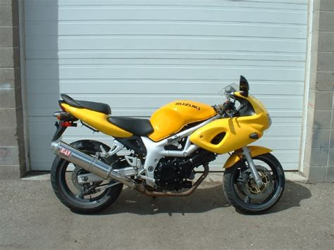 Yellow Suzuki 2000 Suzuki Sv650 Yellow Universal Cycle Services Ltd