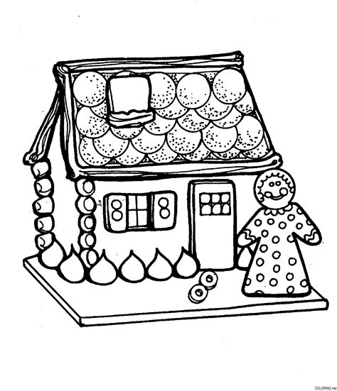 christmas cake coloring page coloring page christmas house cake coloring me