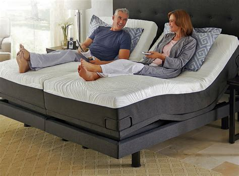 movable bed reverie 8q adjustable bed foundation