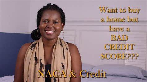 want to buy a house with bad credit buying a house with bad credit naca home buying process perfect credit not required