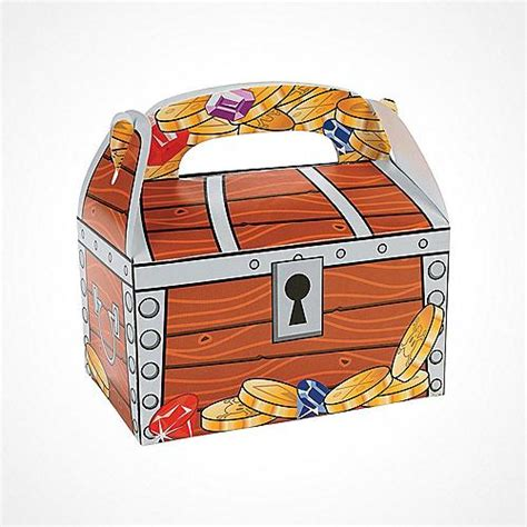 Treasure Chest Decorations by Pirate Pirate Supplies Pirate Decorations