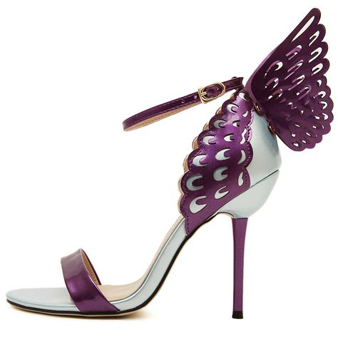 butterfly shoes for sandals 2015 high heels pumps colorful