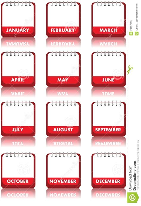 blank calendar clipart  clip art