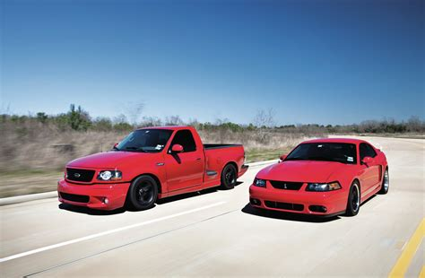 2004 ford mustang cobra and f 150 lightning svt for him
