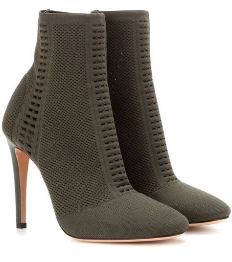 vires knitted ankle boots gianvito mytheresa