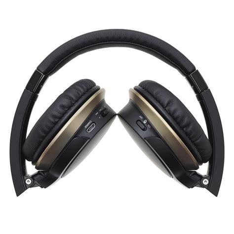 Earphone Audio Technica audio technica ath ar3bt wireless on ear headphones black