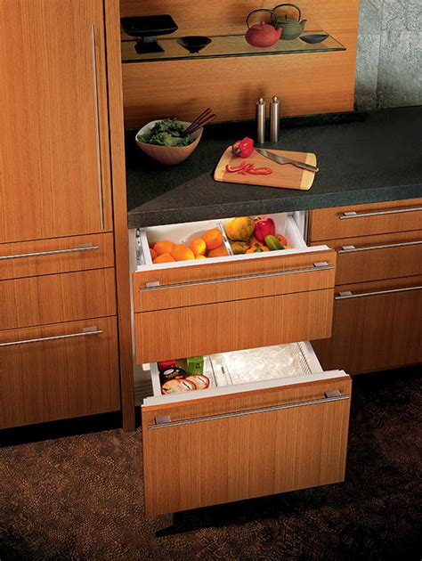 Integrated Refrigerator Drawers by Integrated Refrigerator Freezer Drawers Integrated Refrigeration Sub Zero