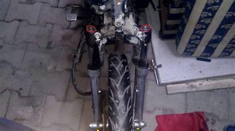 cup motosiklet sanziman yagi nasil degistirilir