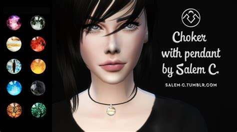 Rugs Stores Salem C Choker With Pendant Ts4 Standalone New Mesh