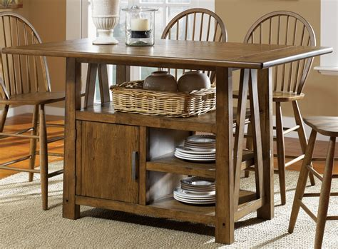 farmhouse center island table by liberty 139 gt3660