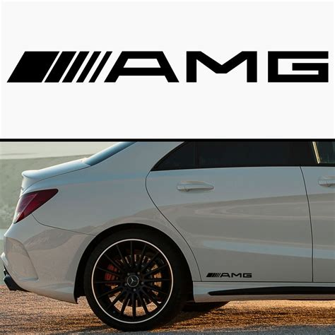 Auto Decals by Product Amg Mercedes Car Skirt Vinyl Sticker Decal