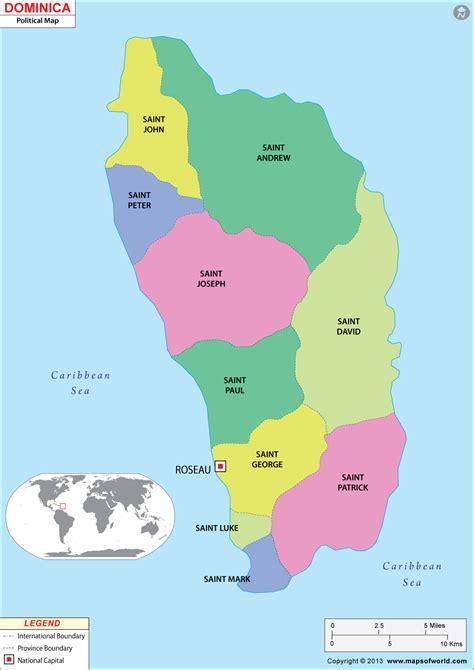 dominica map dominica map map of dominica