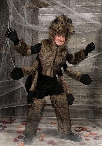 child furry spider costume