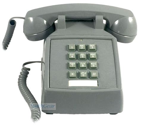 Cortelco Desk Phone by Cortelco 2500 Desk Phone Slate
