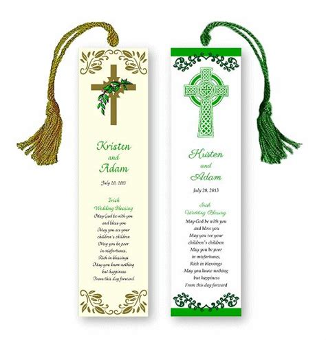 printable wedding bookmark favors bookmark wedding favors google search tables pews