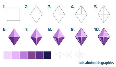 Inkscape Gem Tutorial | inkscape tutorials how to draw gems miscellaneous