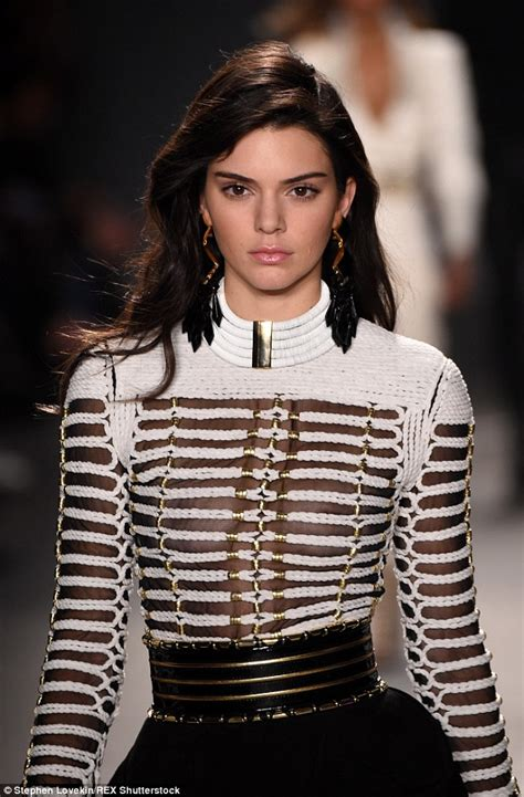 Catwalk Top 10 Vintage Part 2 kendall jenner conceals in see through cut out top