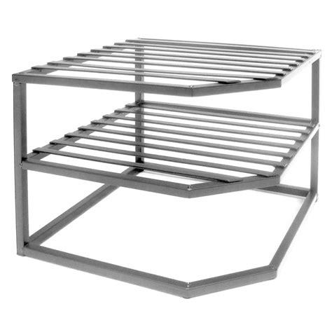 Corner Shelf Rack by New Kitchen Counter Cabinet Rack Organizer Corner Shelf
